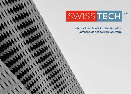 """Wir werden in """"Swisstech 2016"""" anwesend sein"""