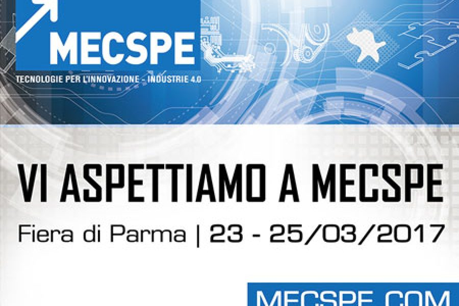 """Present at the 16th edition of """"MECSPE"""""""