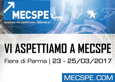 """Presenti alla 16° edizione di subfornitura elettronica """"MECSPE"""""""