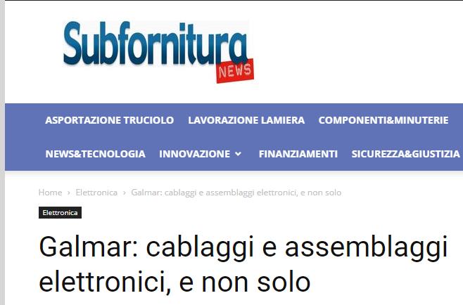 Dicono di noi: subfornituranews.it
