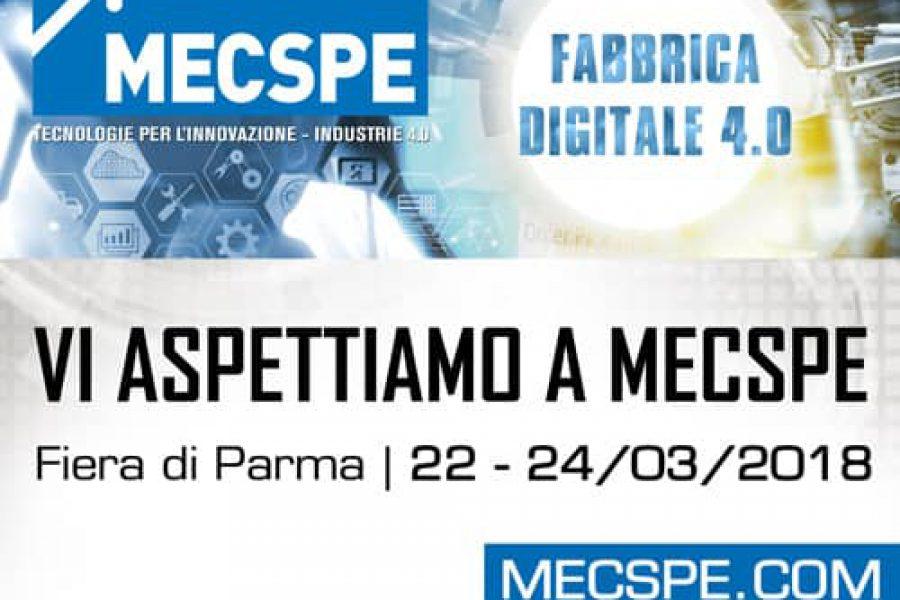Galmar presente alla nuova edizione di MECSPE 2018